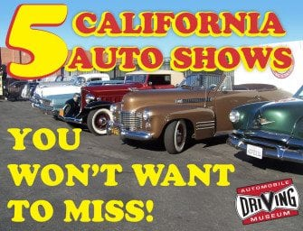 Five California Car Shows You Won't Want To Miss!