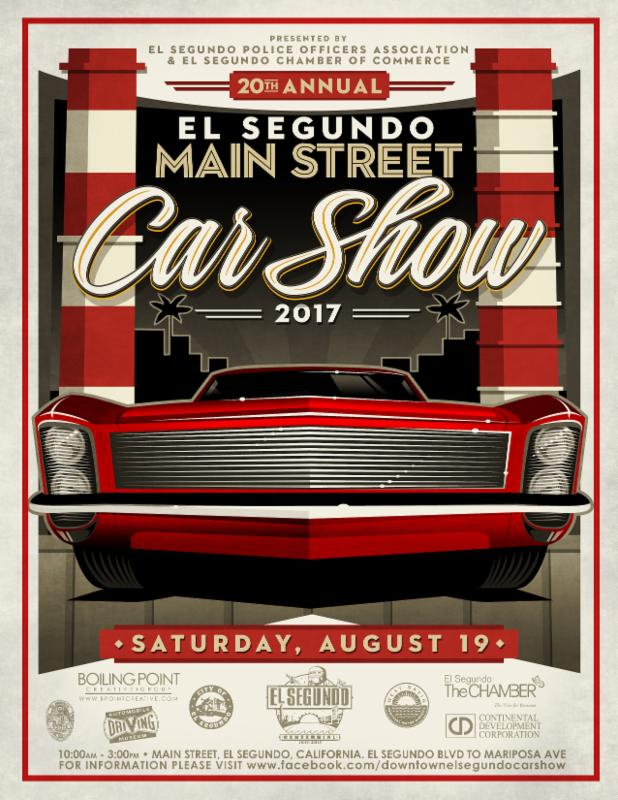 El Segundo Main Street Car Show Automobile Driving Museum - Main street car show