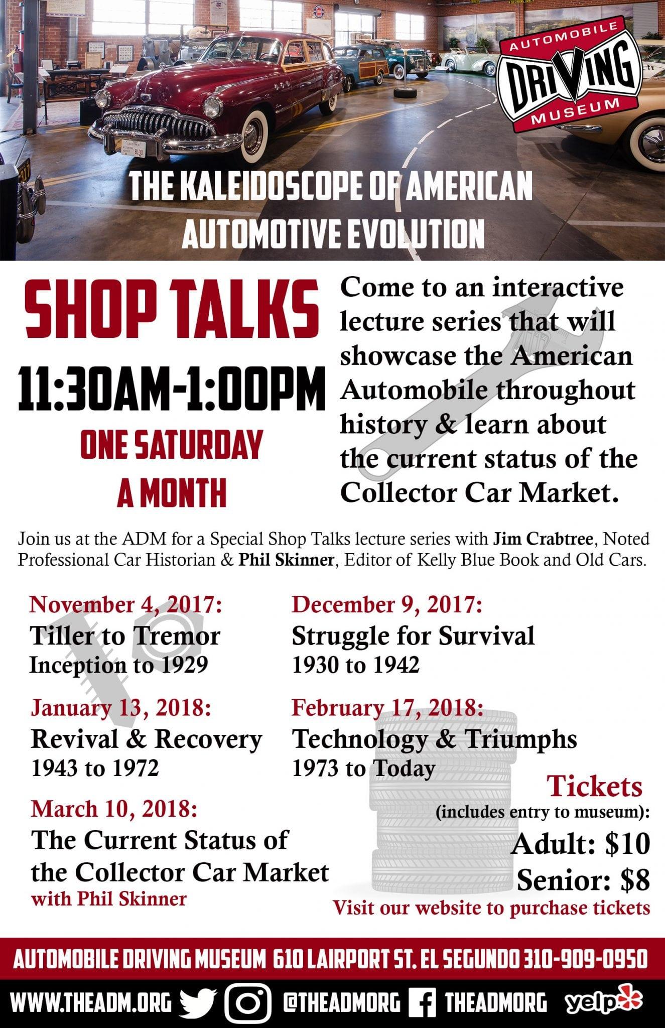 SHOP TALKS - The Kaleidoscope of American Automotive Evolution ...