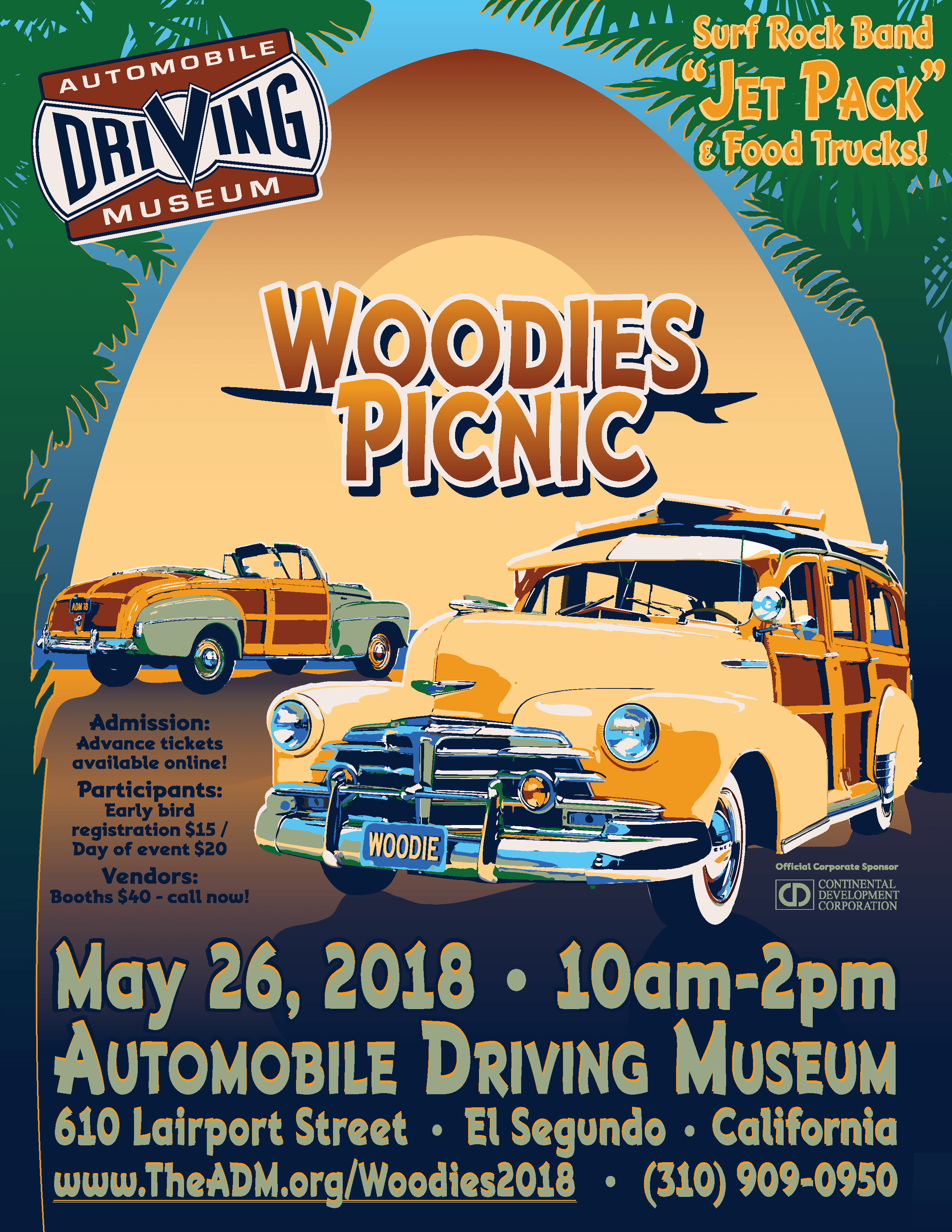 Woodies Picnic And Car Show Automobile Driving Museum - Car shows near me now