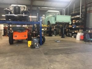 Car restoration 2018 project warehouse
