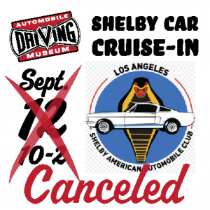 Shelby cruise in Canceled