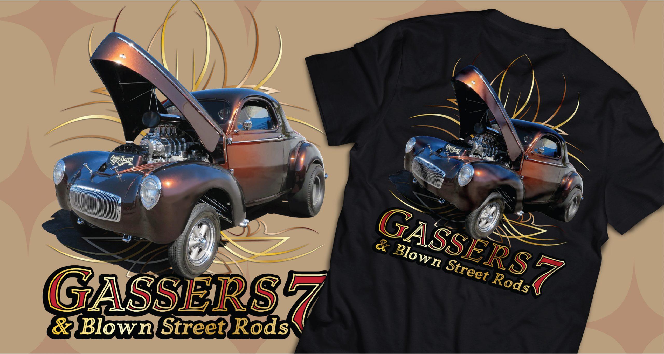 Gassers 7 t shirt
