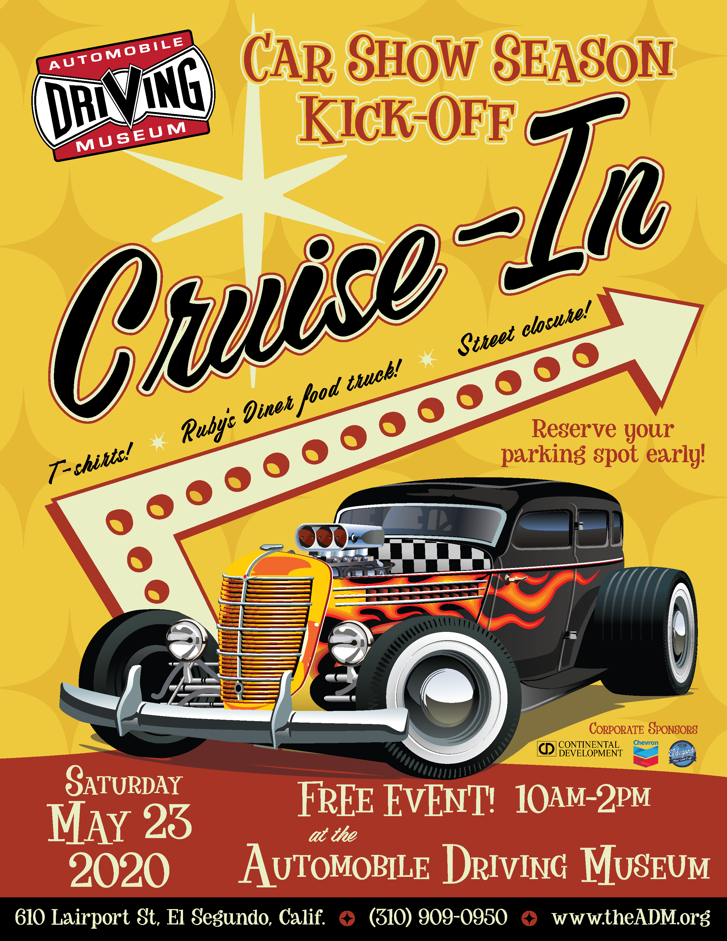 kickoff cruise car show in El Segundo