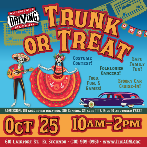 trunk or treat cruise in at the adm