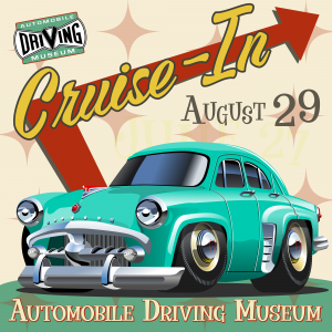 Cruise in car show August 29