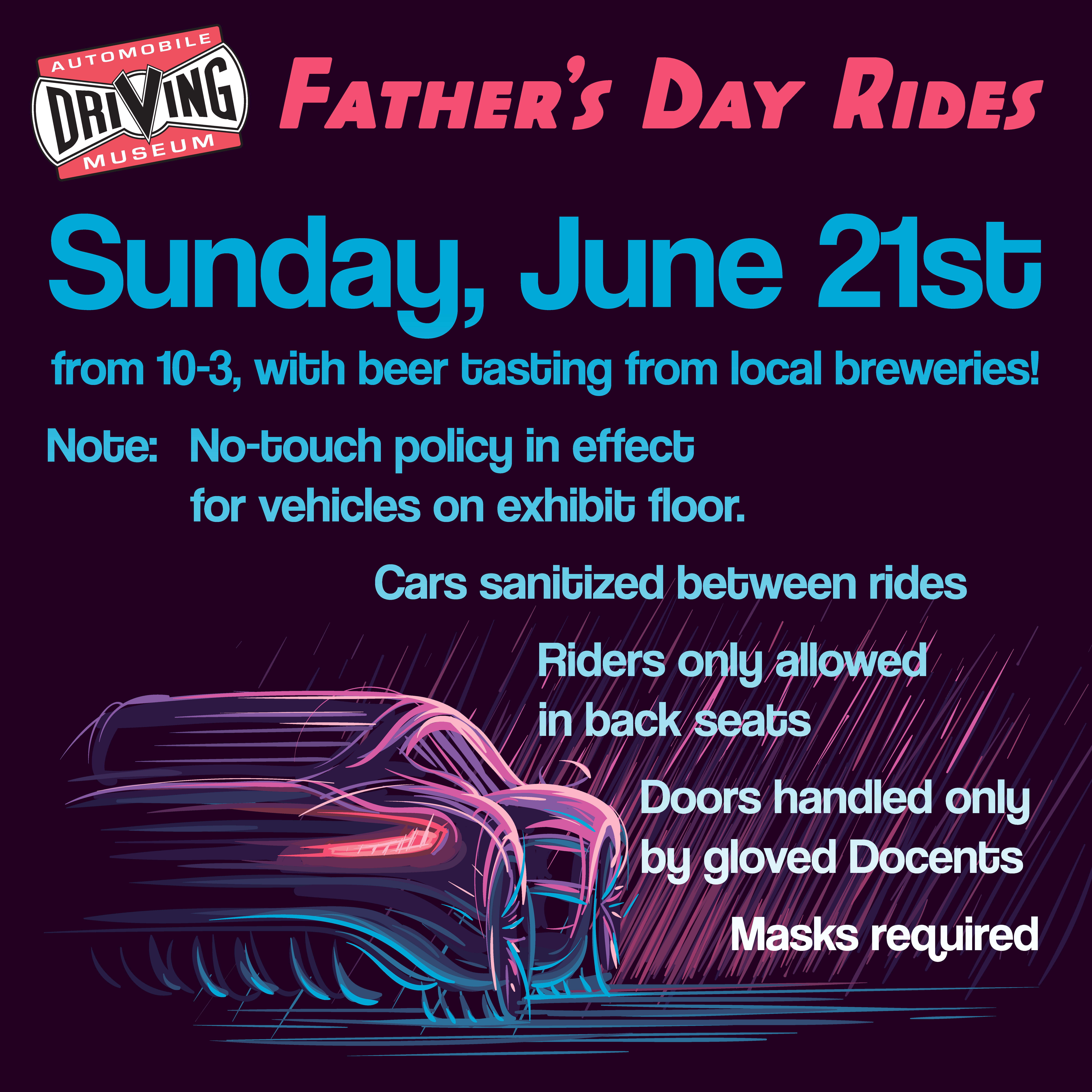 Father's day rides at the ADM