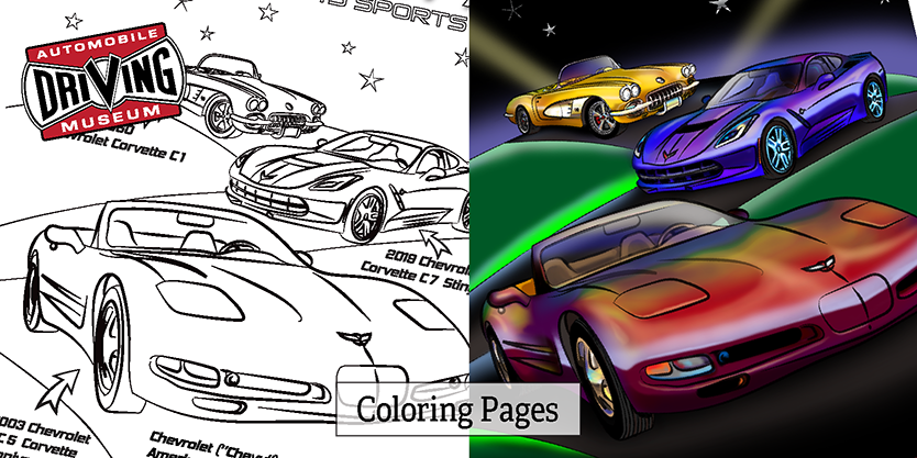Coloring Pages banner