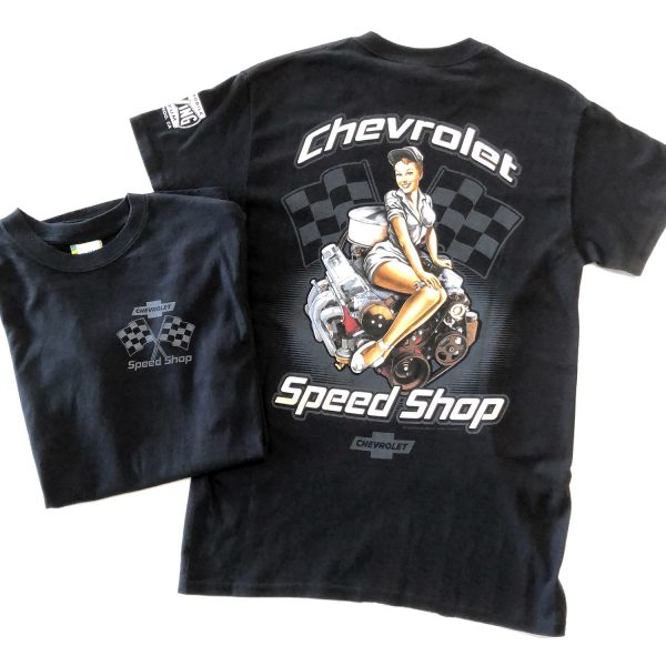 Chevy Speed Shop T Shirt