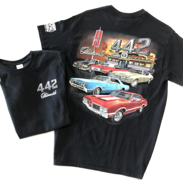 oldsmobile cutlass t shirt