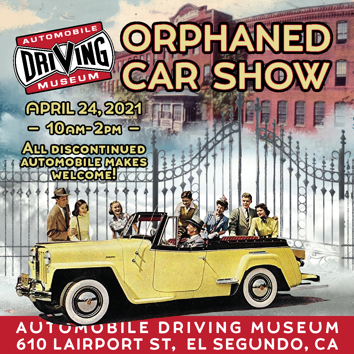 Orphaned Car Show at the ADM