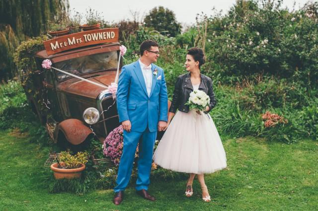 1950s-retro- theme wedding-