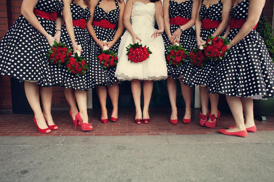 50s theme wedding