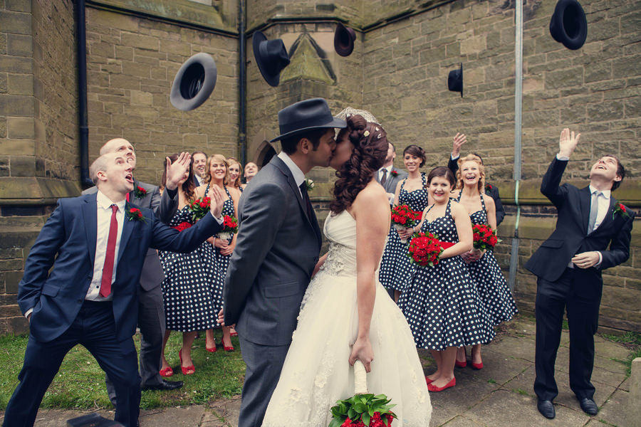 50s Themed Wedding