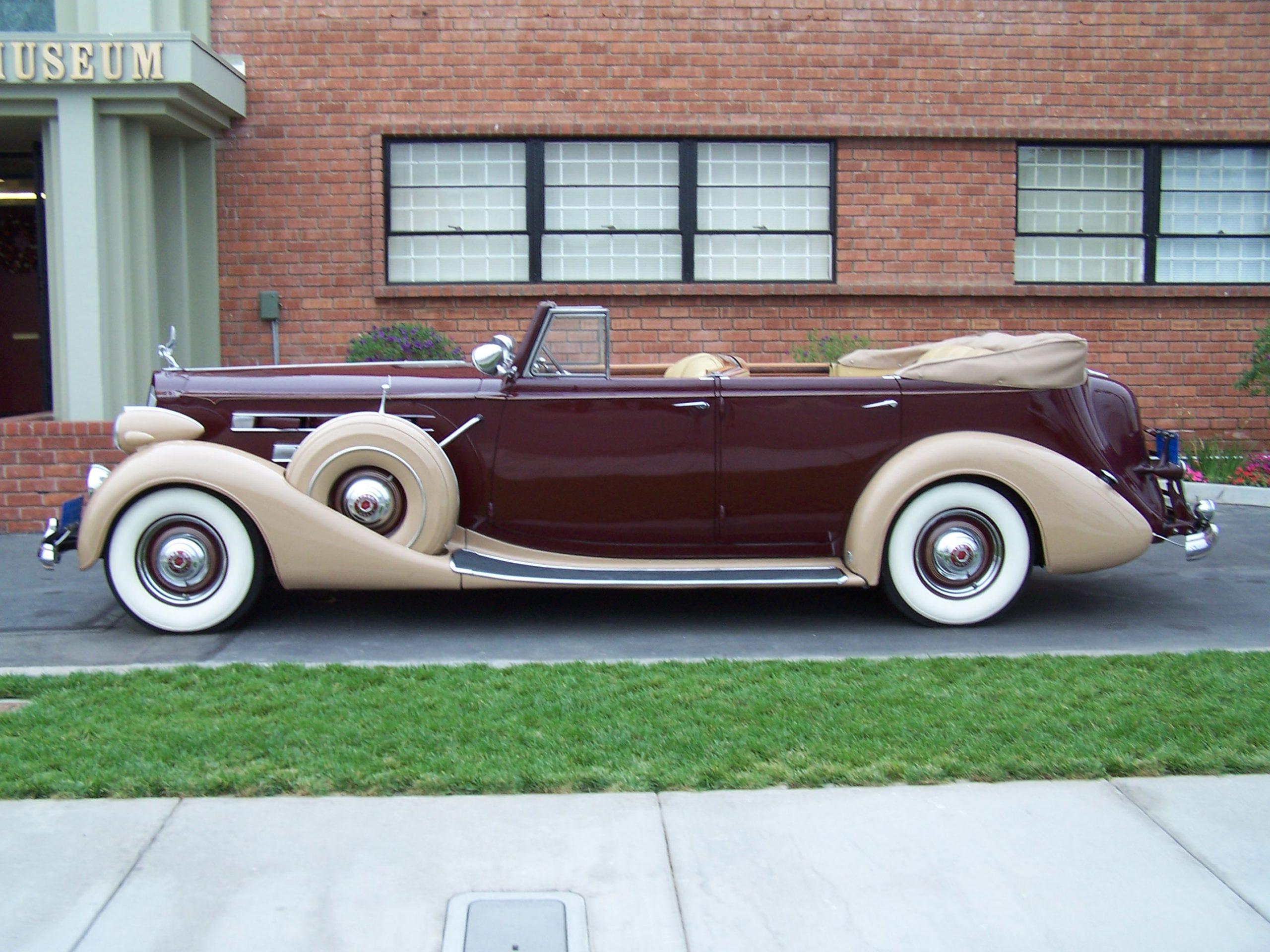 1937 Packard V12 for rent