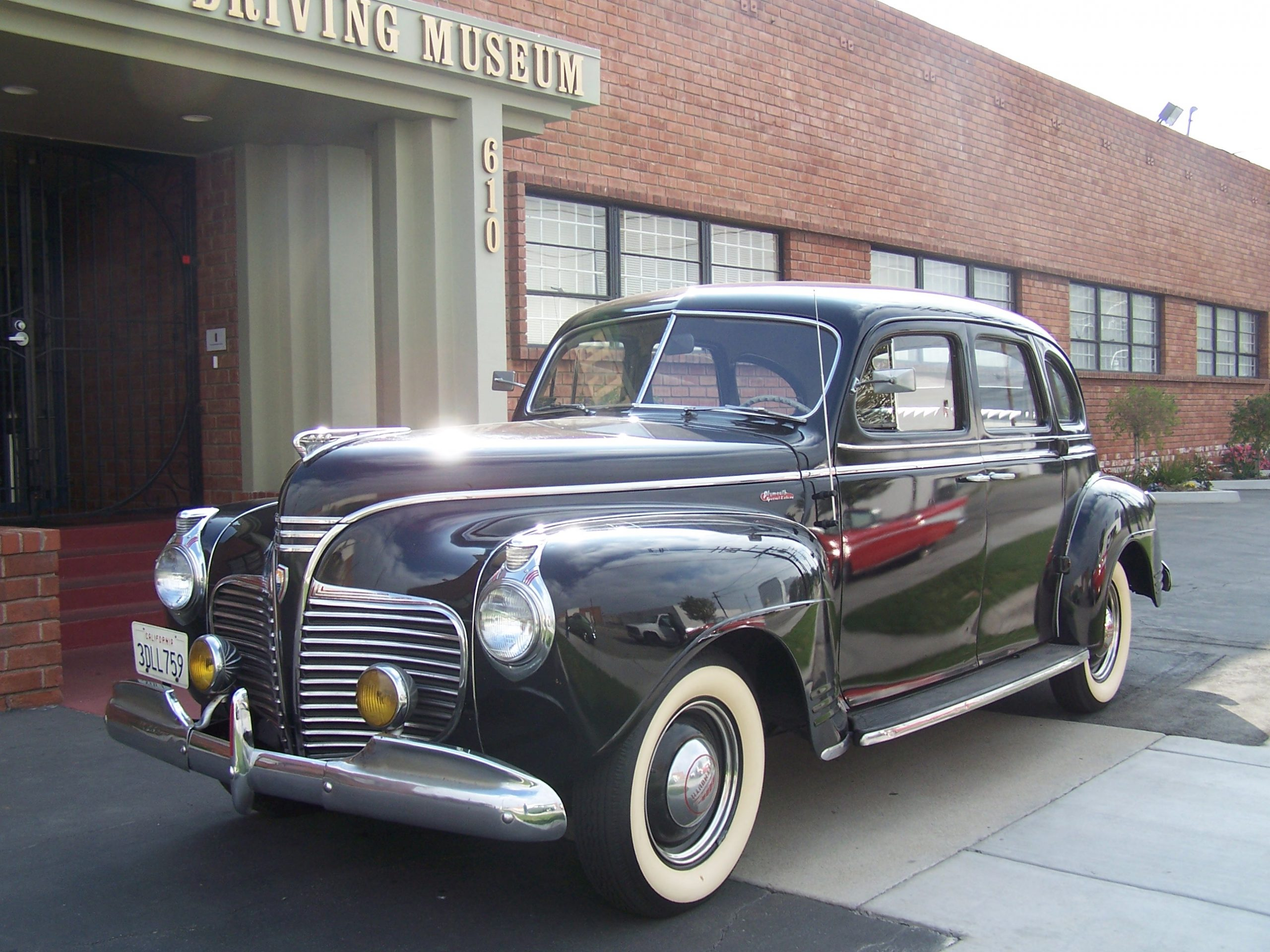 1941 Plymouth for rent