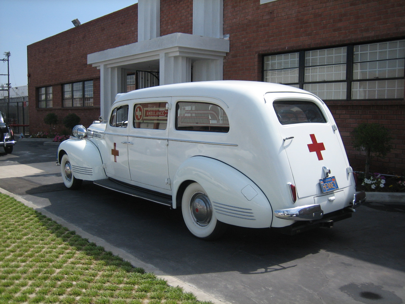 1942 Packard Ambulance for rent