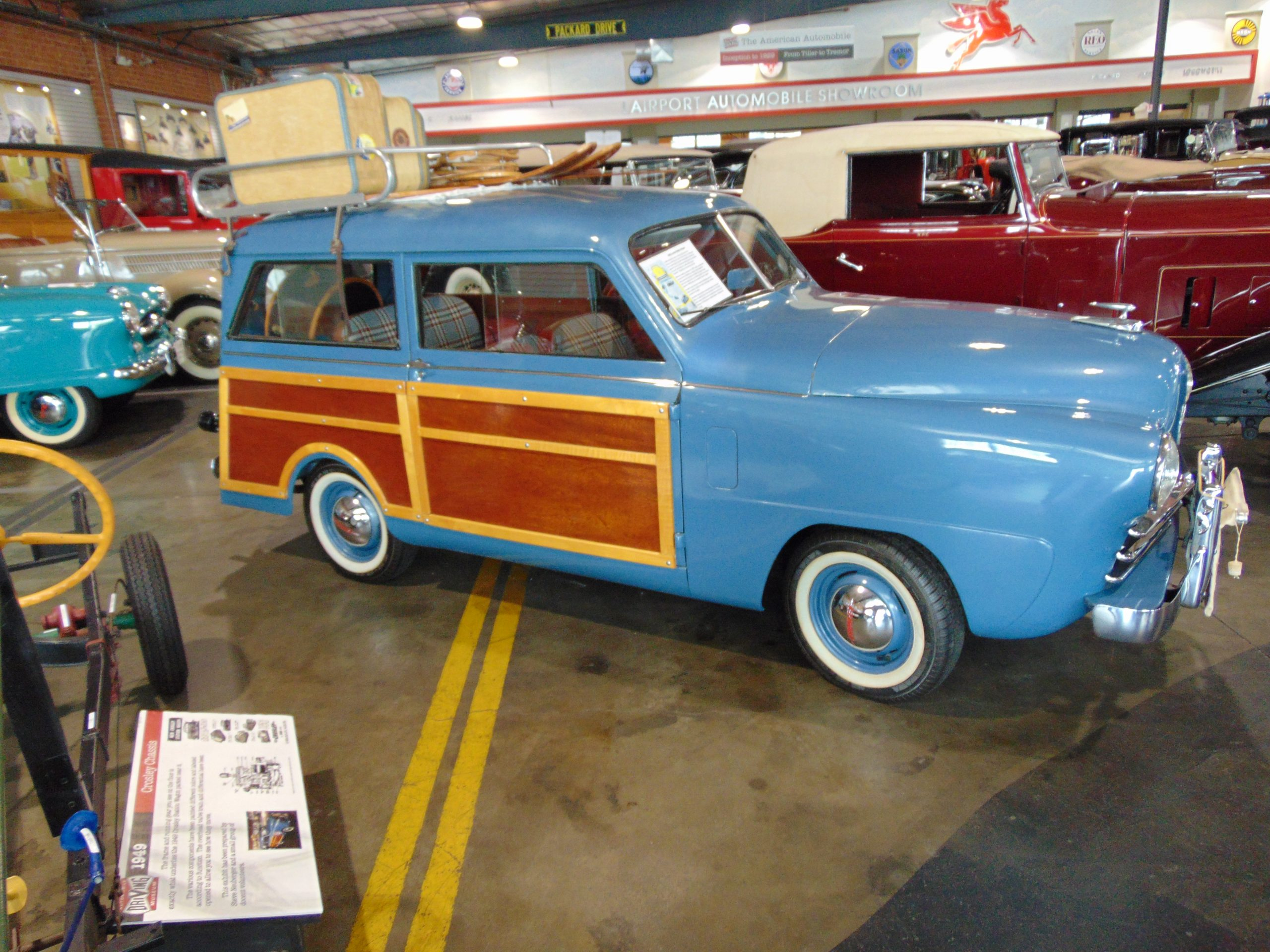 1949 Crosley Woody for rent