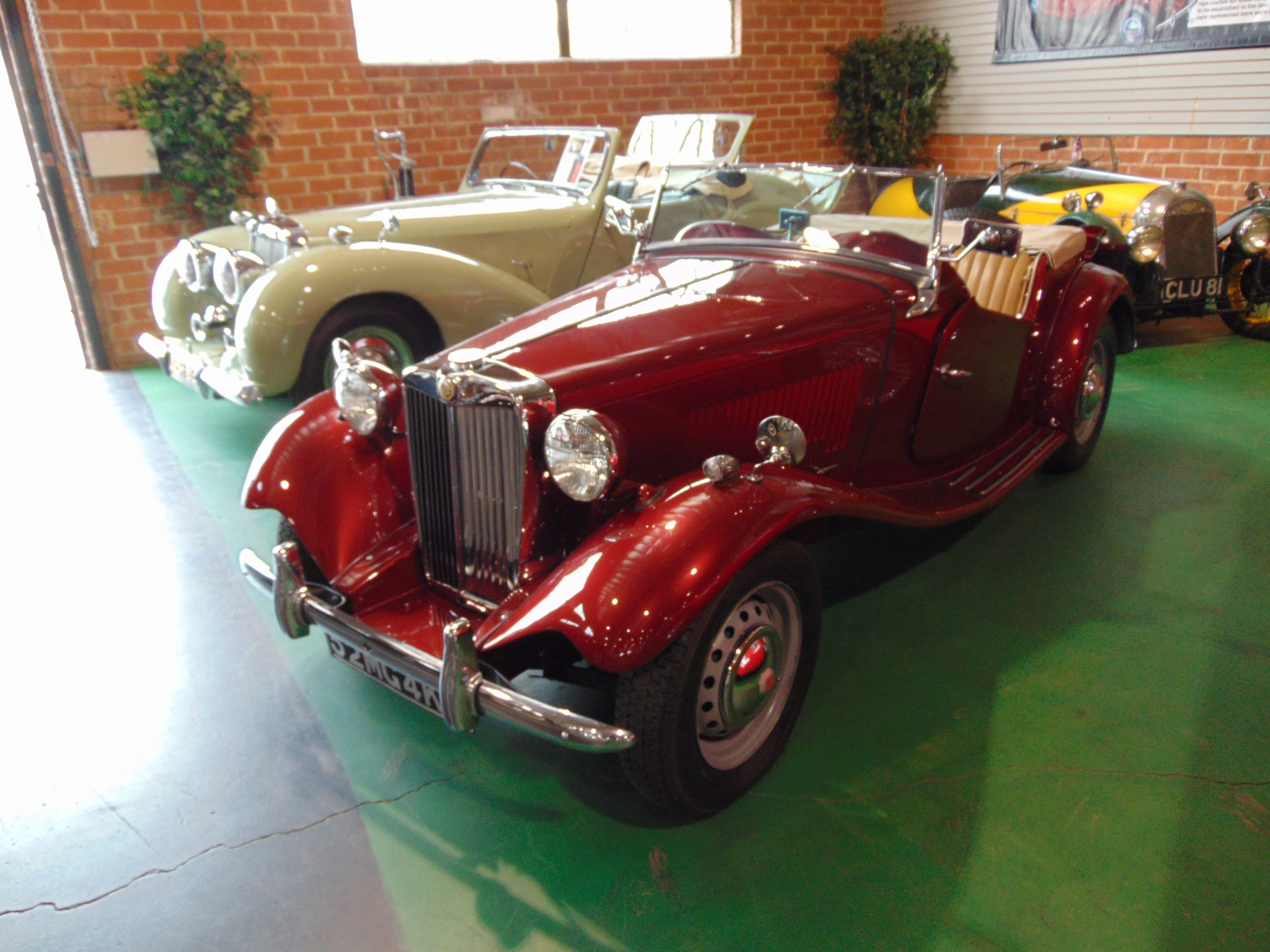 1952 MG for rent