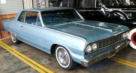 1964 Chevy Malibu for rent