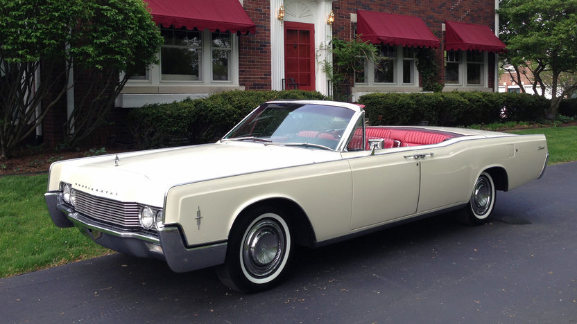 1966 Lincoln Continental for rent