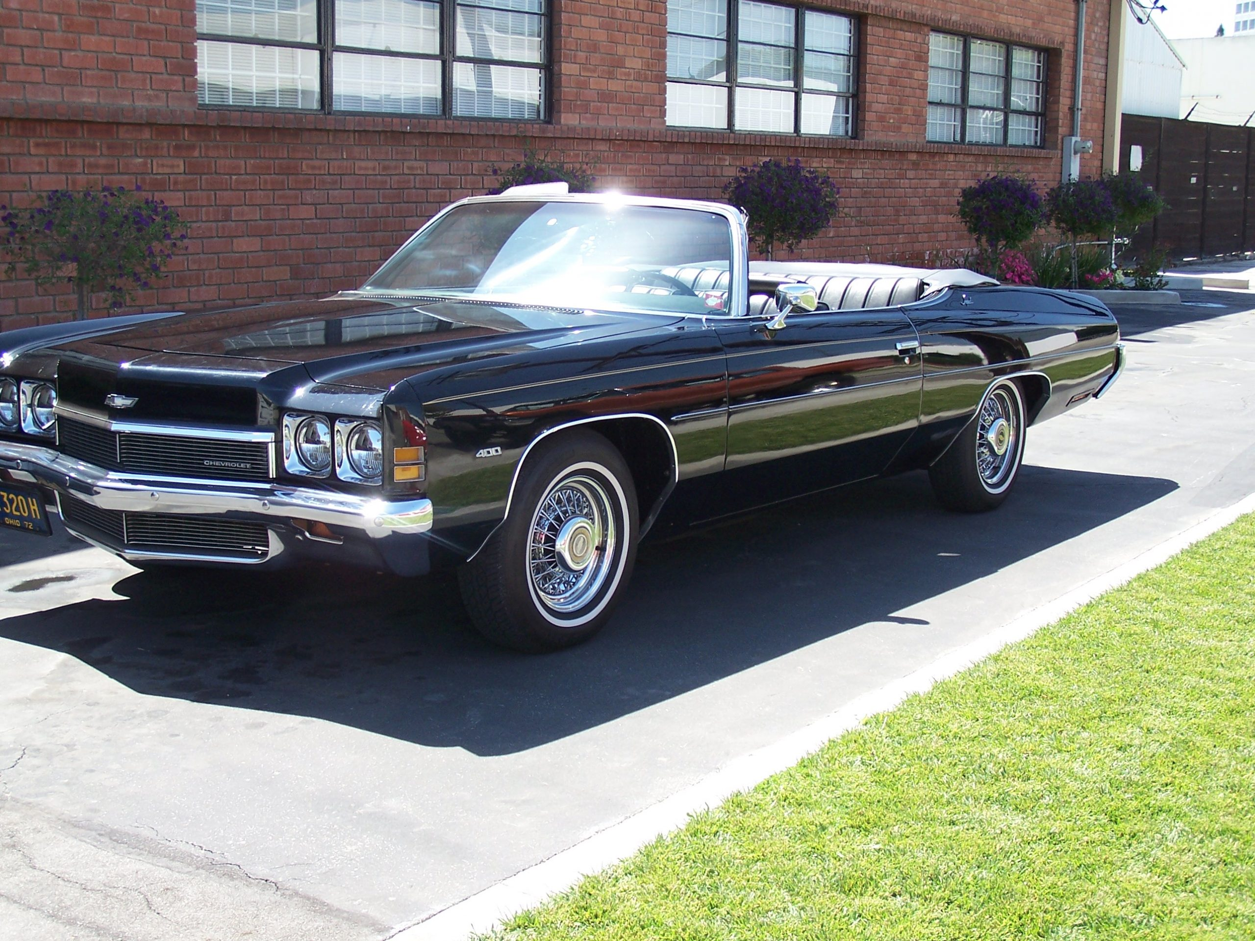 1972 Chevy Impala for rent