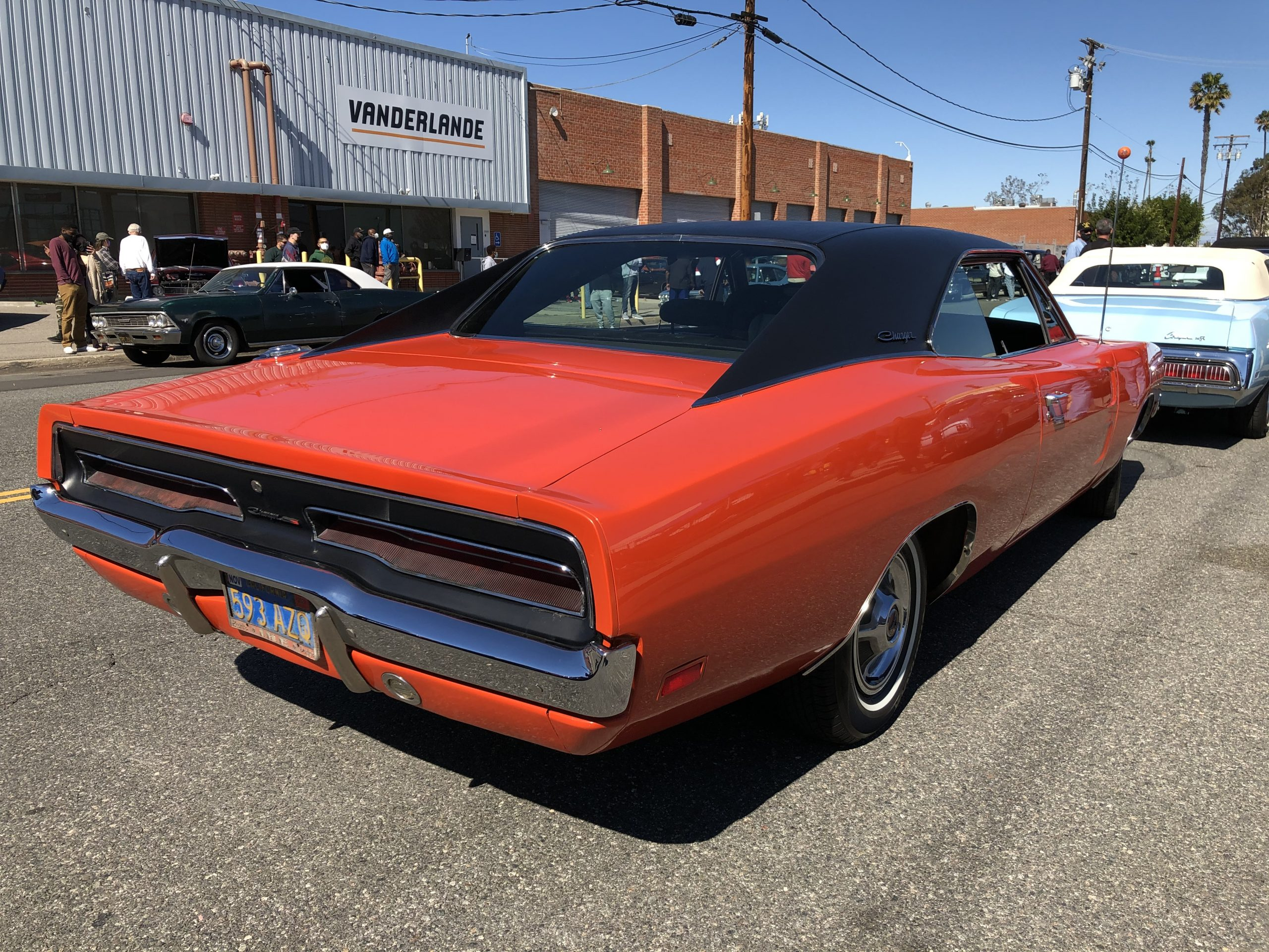 Dodge Charger at the adm