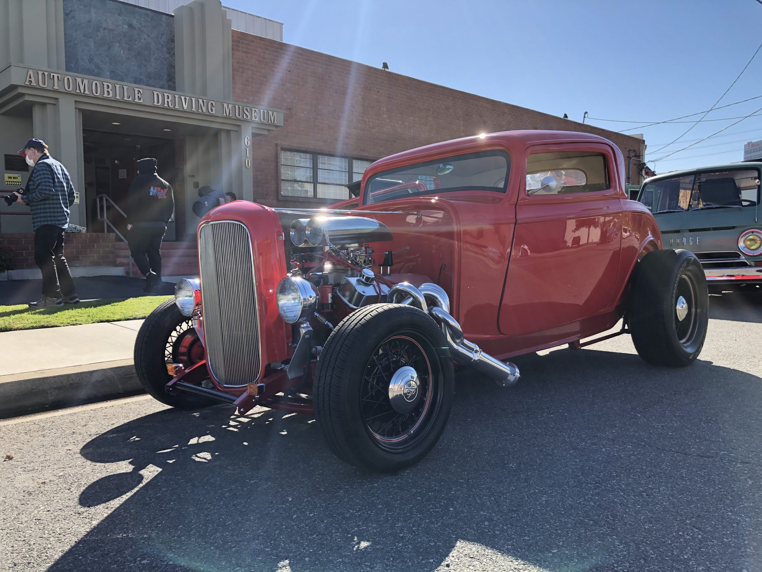 1932 Red Hot Rod Ford