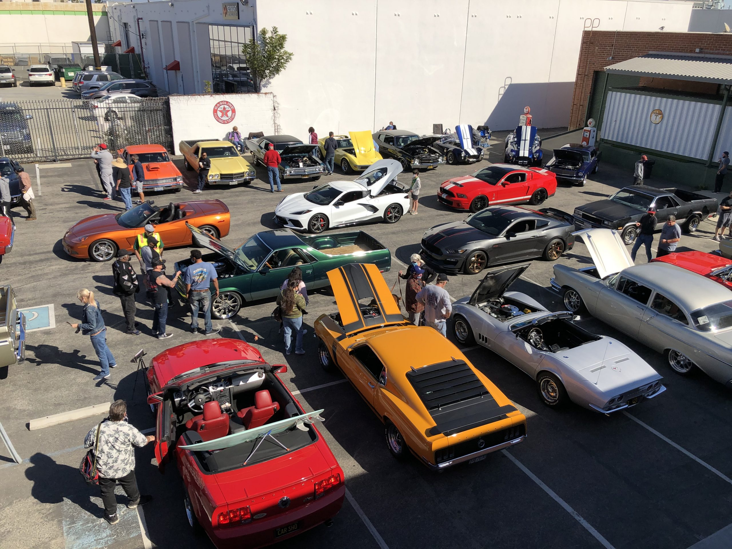 Muscle Car Show at the ADM