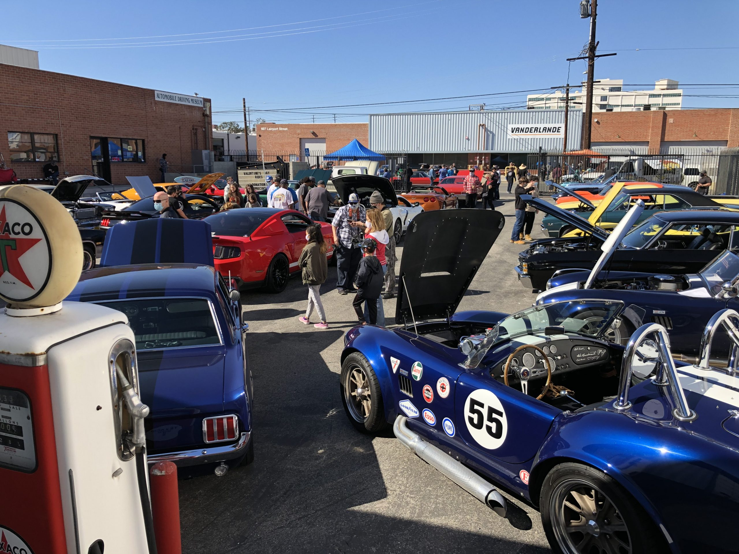 Muscle Car Show at the Automobile Driving Museum 2