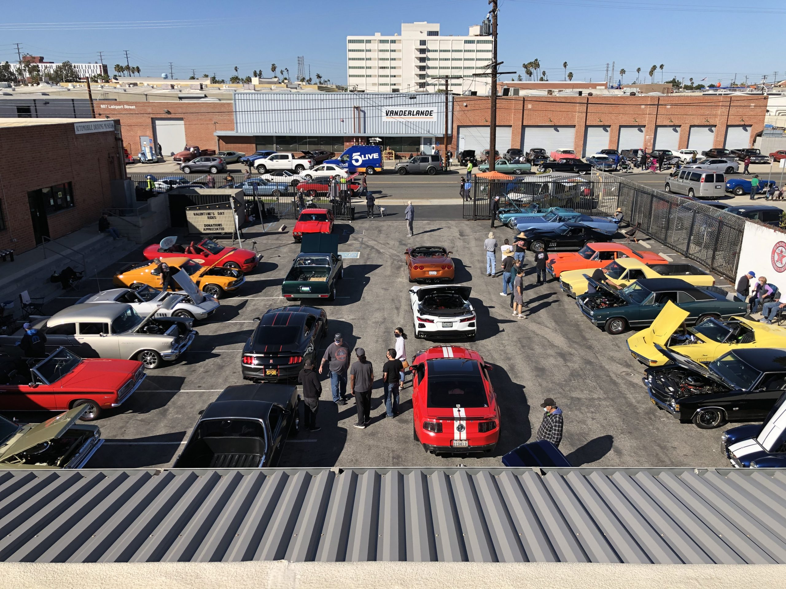 Muscle Car Show at the Automobile Driving Museum 3