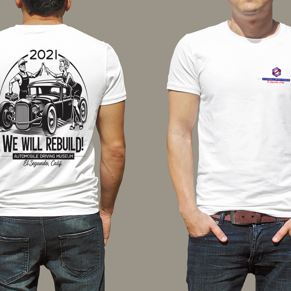 Hot Rod T Shirt Design ADM