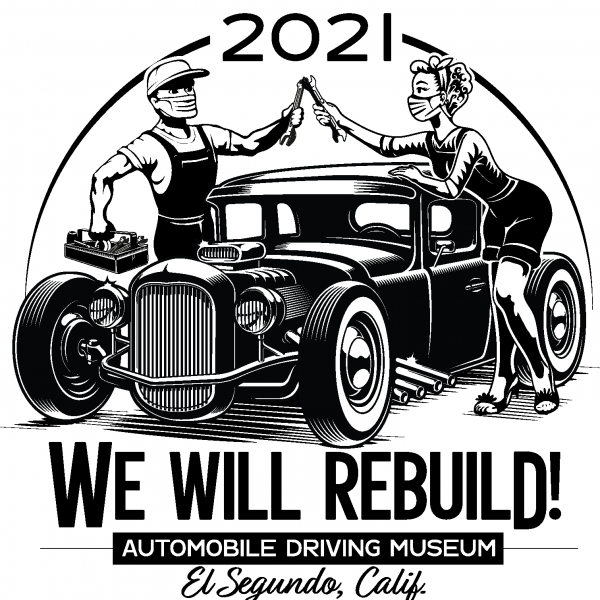 We will rebuild hot rod t shirt