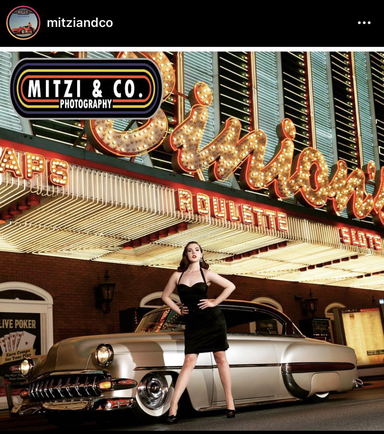 Mitzi & Co Pinup