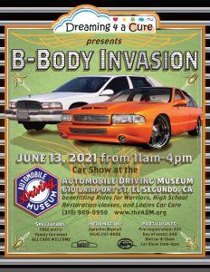 B Body Invasion Car Show